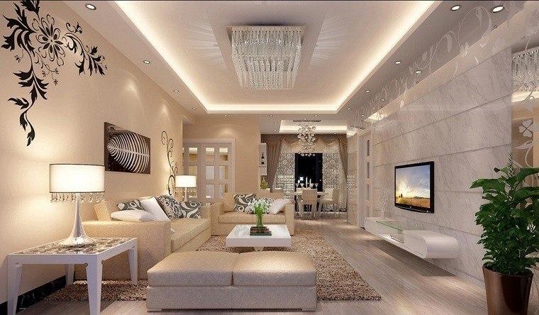 Salones de lujo veinticinco ideas para decorar con estilo - Salones con estilo ...