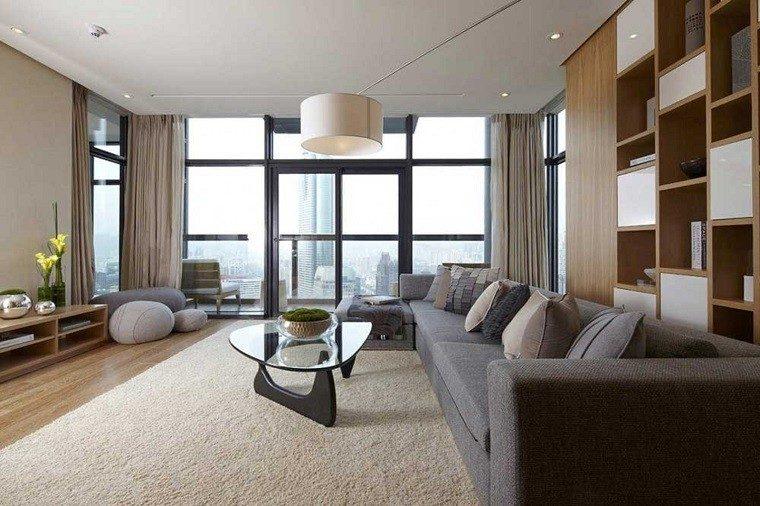 salones modernos muebles lujosos
