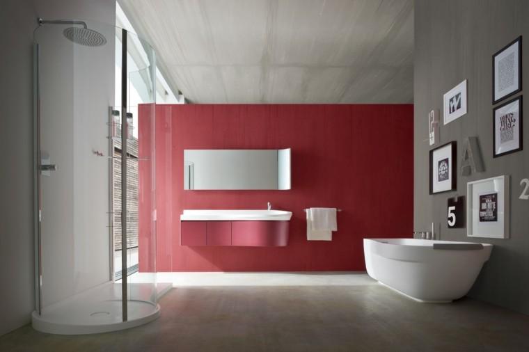 separados plato amplio moderno paredes