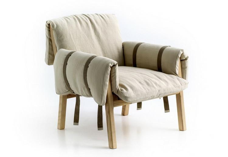 silla moderna correas locos camisa