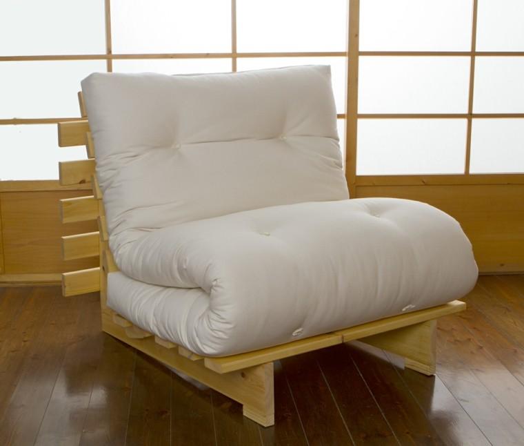 sillon cama diseño moderno madera