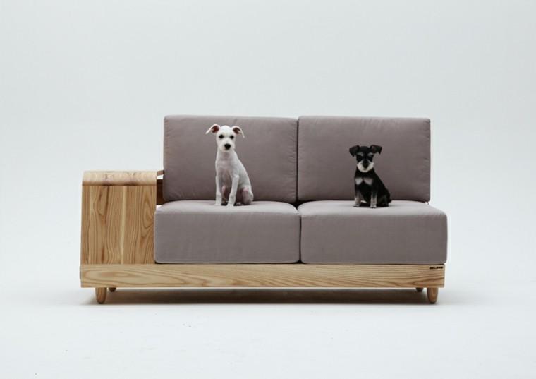 sofa barato dos perritos