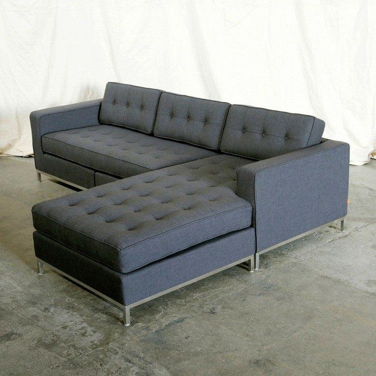 sofa forma ele capitone gris