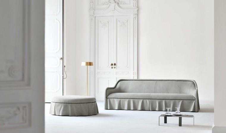 sofa moderno color gris paloma
