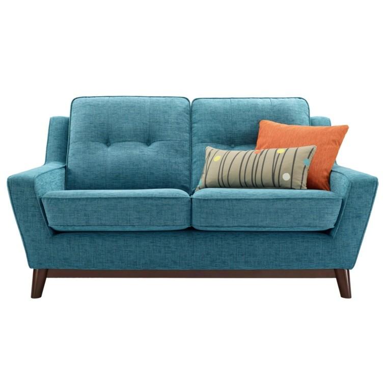 sofas baratos canapé color turquesa