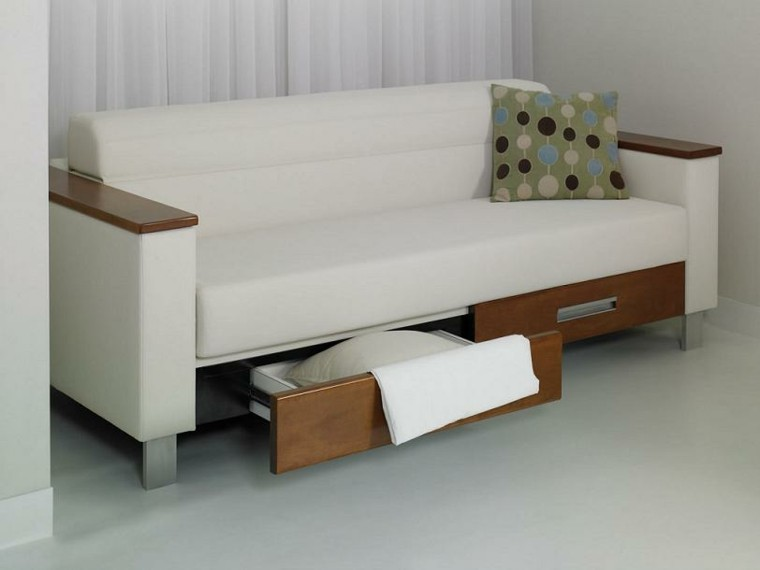 sofas baratos modernos cajones madera