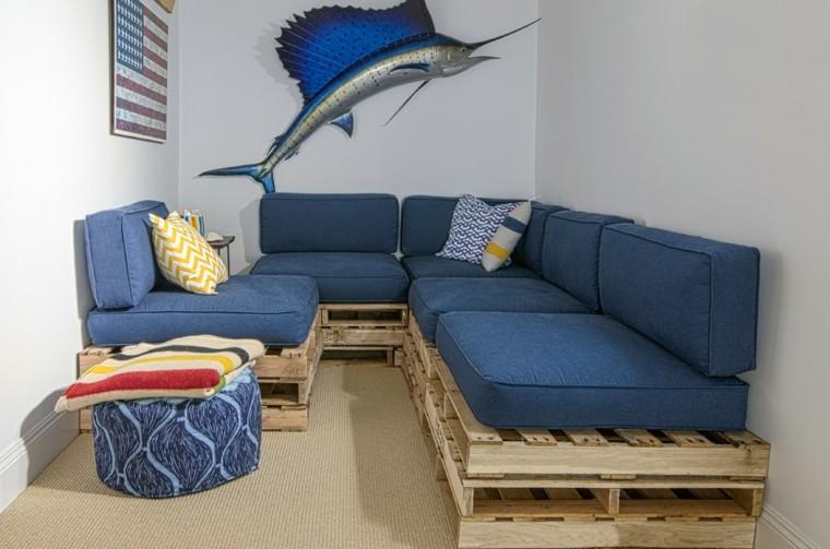 sofas baratos hechoc palets madera