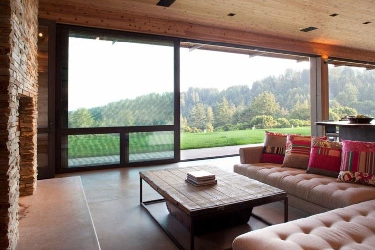 sofas modelo capitone vistas campo