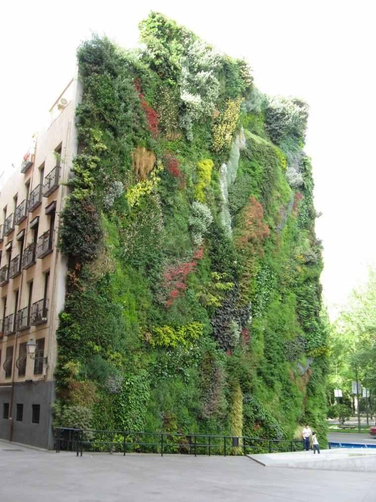 sostenible hombres balcones suelo exteriores