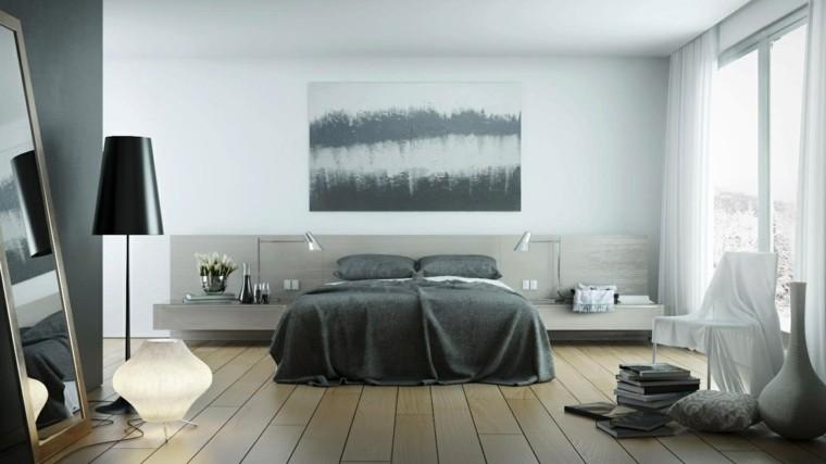 suelo lamparas dormitorio cortinas fresco