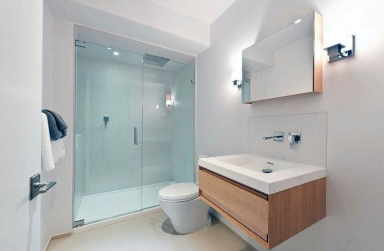 techo cuadrada ducha toalla puertas