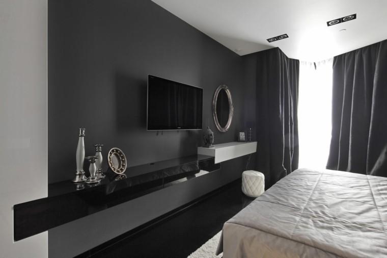 television paredes casa estante moderno