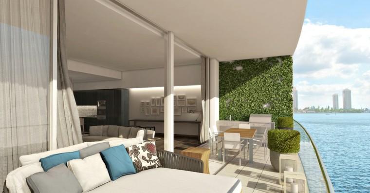 terrazas decoradas jardin vertical macetas ideas