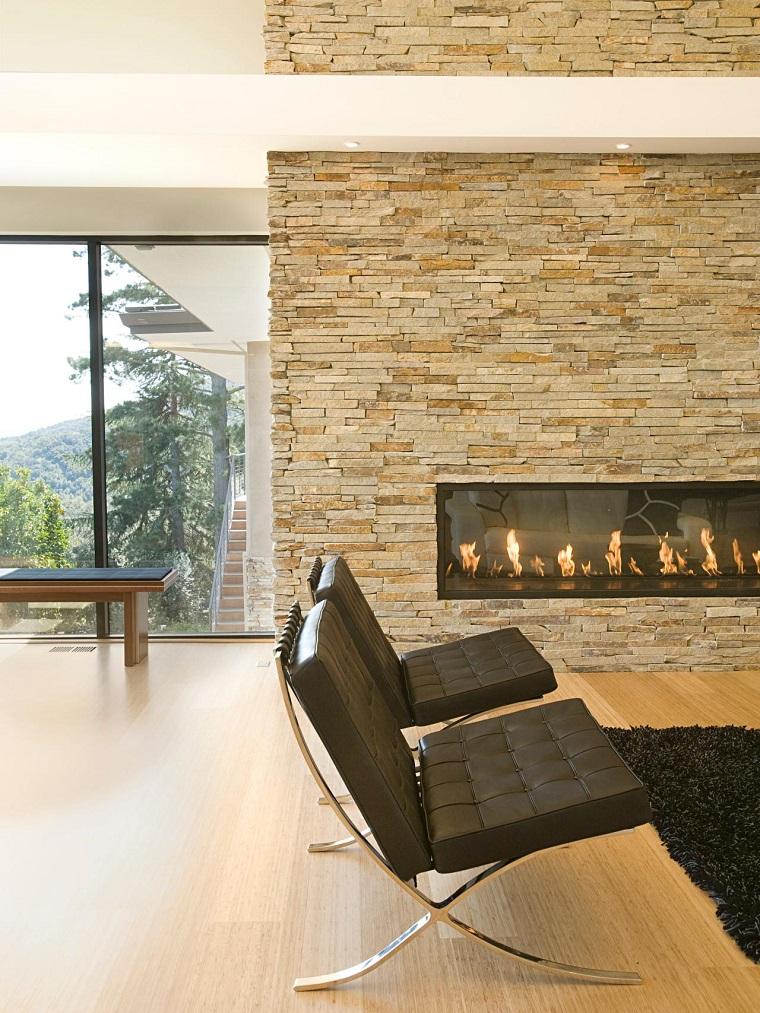 Tipos de chimeneas perfectas para un hogar acogedor for Diseno de hogares a gas