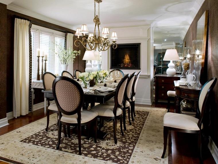 Tipos de chimeneas perfectas para un hogar acogedor for Comedor con chimenea