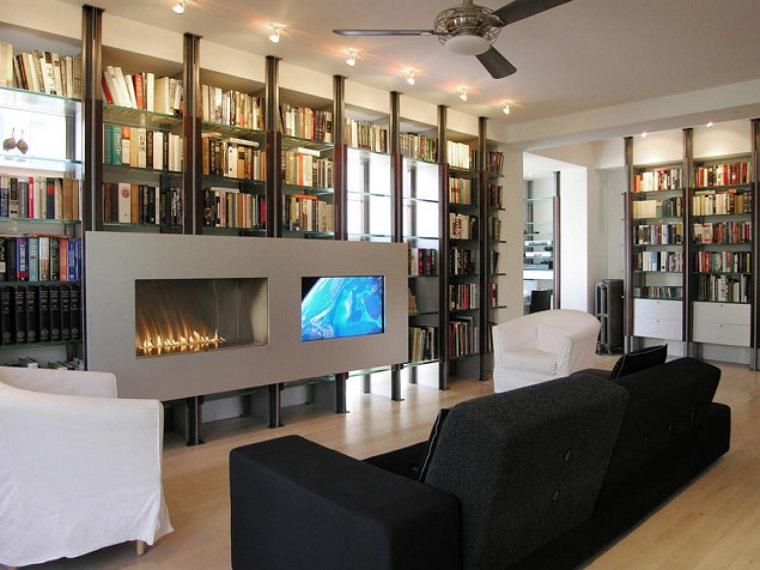 tipos de chimeneas pared casa chimenea gas ideas