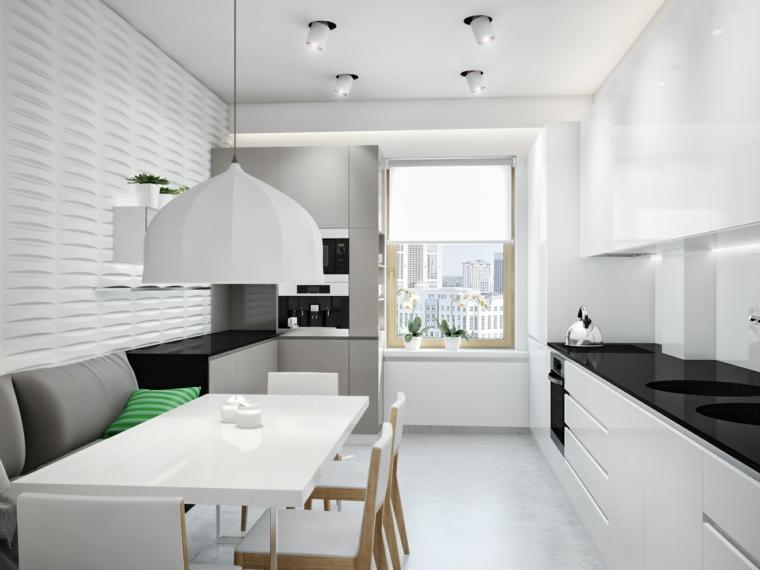 ucrania apartamento lamparas cojines rayas