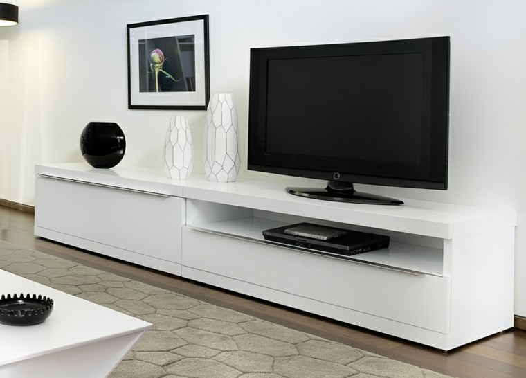 Muebles para tv, 50 propuestas creativas y modernas. - photo#24