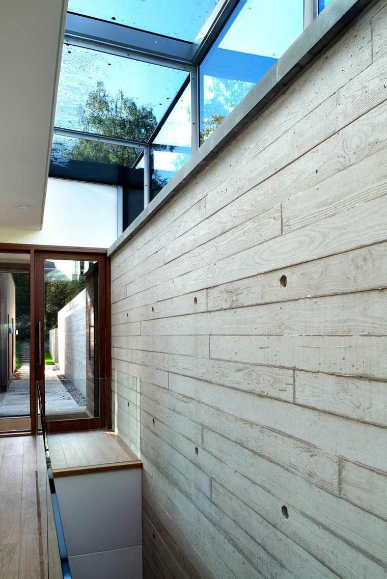 vallas madera interior exterior casa salida ideas