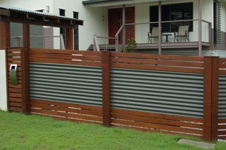 Vallas metalicas para jardin hoy te mostramos unas ideas - Vallas jardin metalicas ...