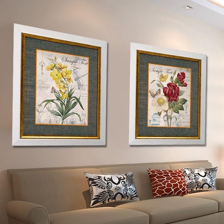 variante elegante simetrica floral cojines
