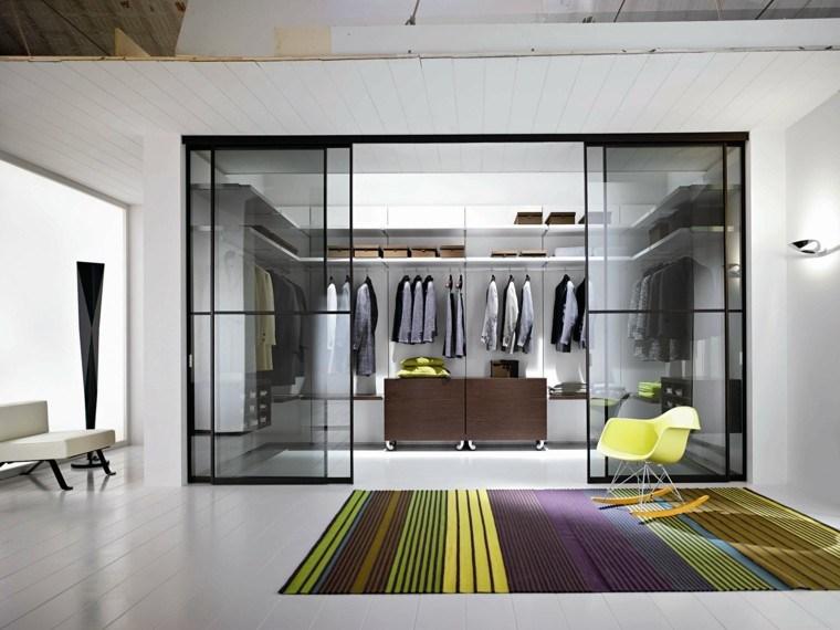 vestidor madera mueble colorido alfombra