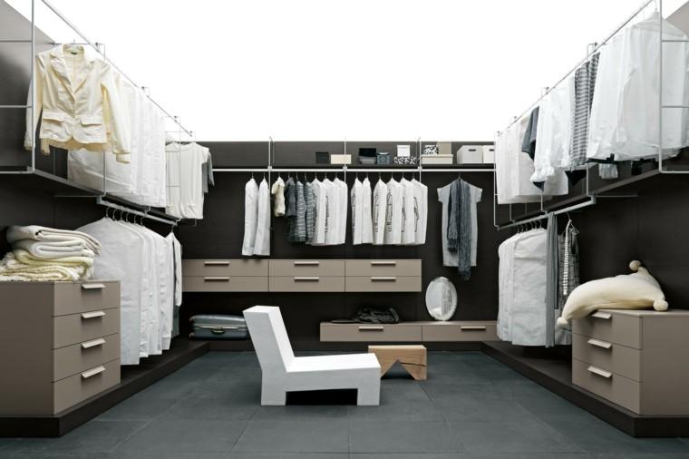 vestidor moderno minimalista estilo silla