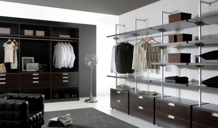 vestidor negro estilo ventilador metalico