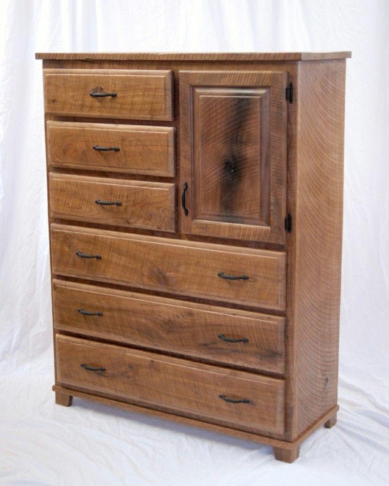 vestidor estilo retro madera natural