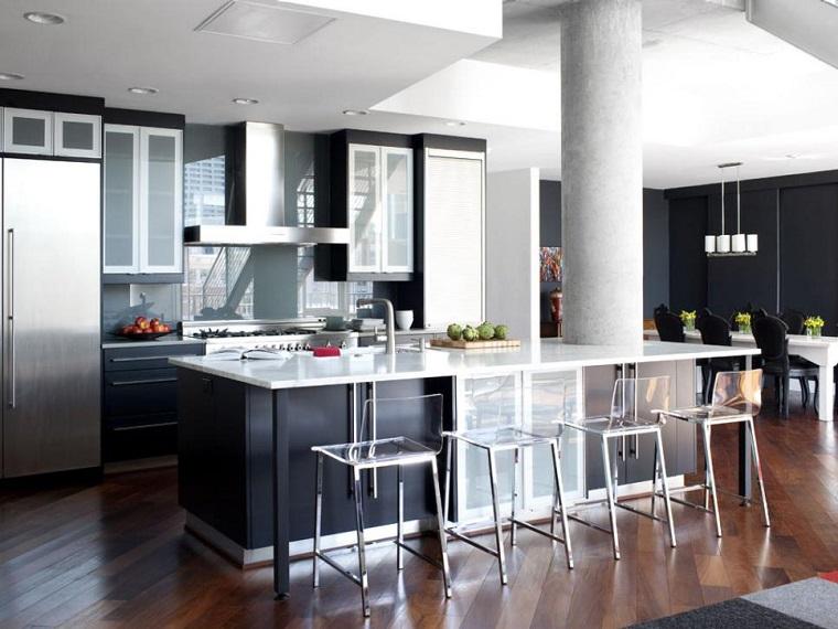 brian patrick flynn cocina moderna negra diseno original ideas