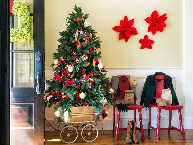 brian patrick flynn entrada casa arbol navidad ideas