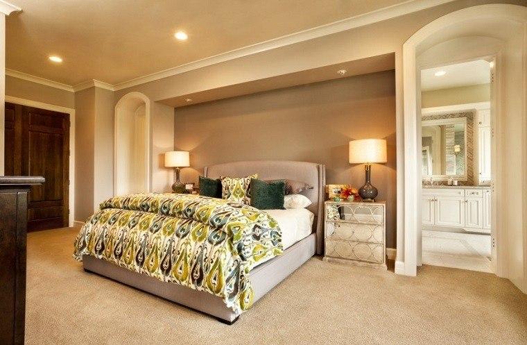 Cabeceros originales 70 ideas para el dormitorio de tus for Diseno de habitacion principal pequena