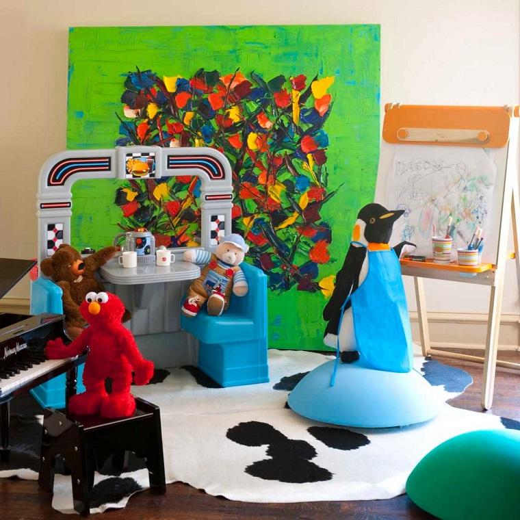 Mary Anne Smiley habitacion juegos ninos juguetes ideas