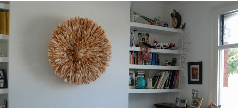 Plumas para decorar cincuenta ideas originales - Adornos de pared ...