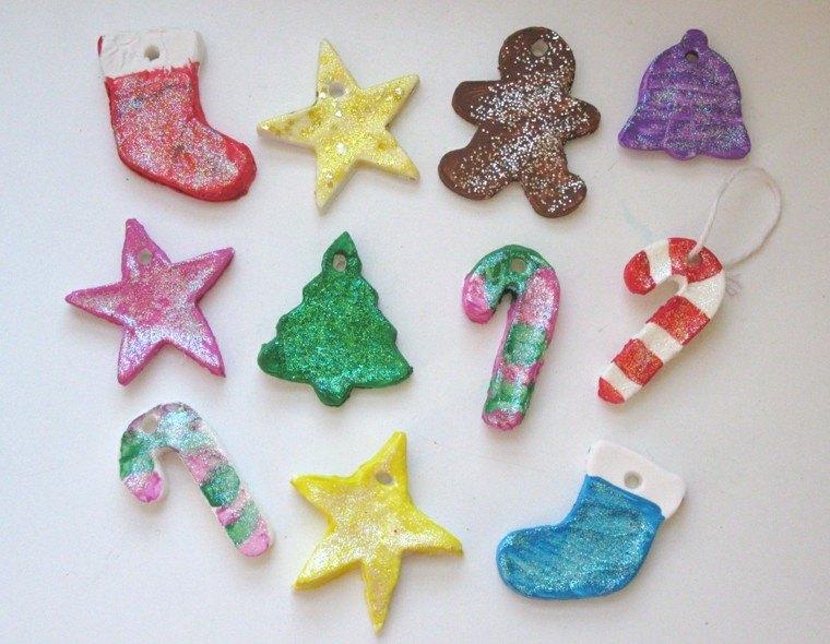 Manualidades para navidad cincuenta ideas originales - Adornos caseros navidad ...