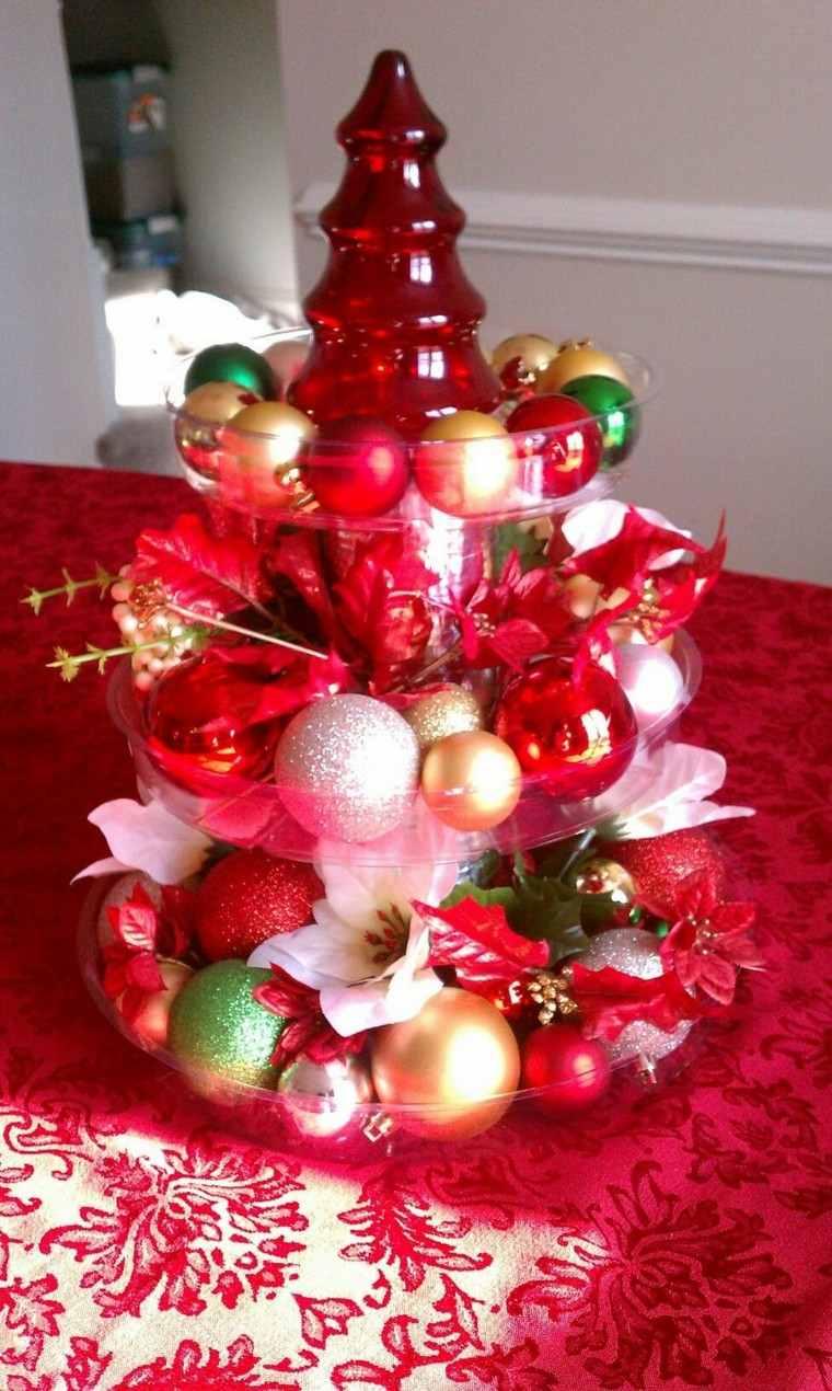 adorno centro mesa árbolnavidad