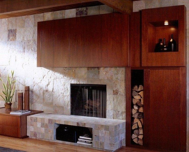 agradable salon casa moderno mueble