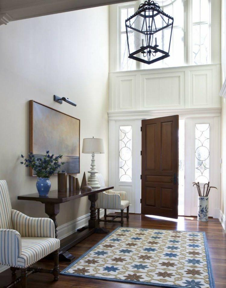 Entradas y recibidores con encanto 50 ideas para decorar - Alfombras para recibidor ...