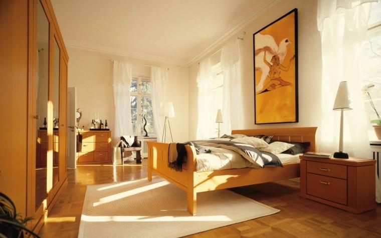 amarillos cuadro plantas cuernos dormitorio