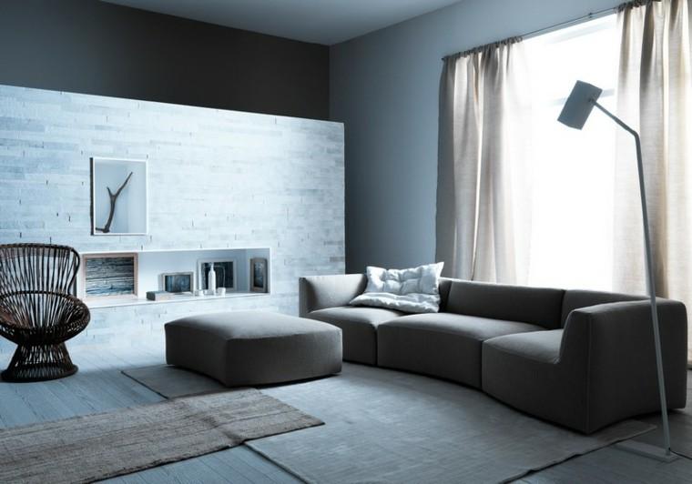 ambiente blanco contraste grises cuadro