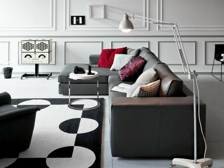 ambiente blanco contraste paredes decorado