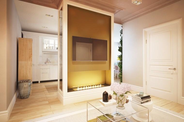 ambiente creativo madera jarrones puerta