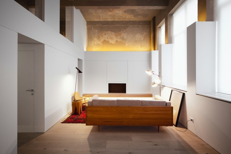 Estudios y apartamentos tipo loft de dise o moderno for Diseno apartaestudio