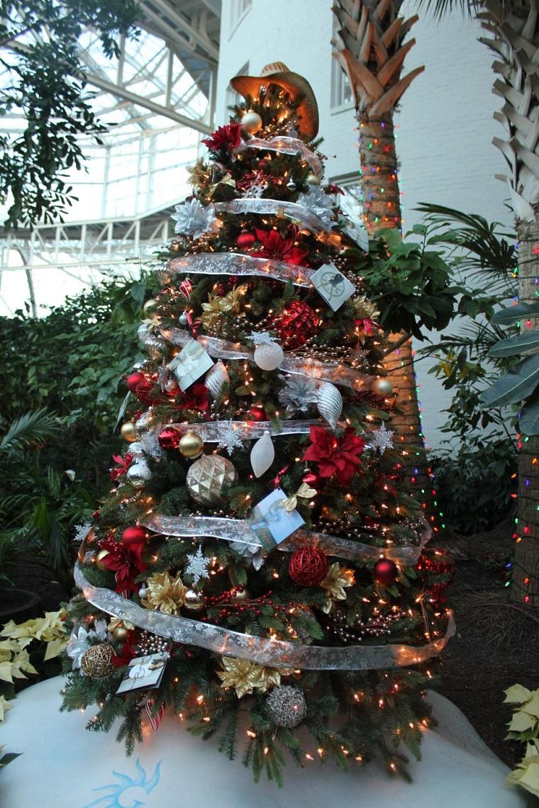 arbol navidad precioso bolas grandes pequenas ideas