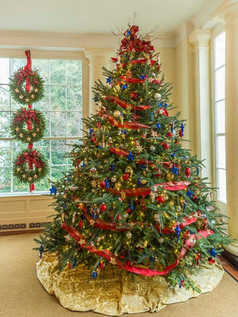 Arbol de navidad 50 ideas preciosas para decorar - Arbol de navidad adornos ...