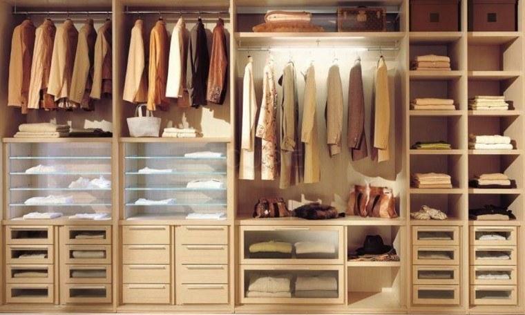 Vestidores grandes y armarios empotrados 50 ideas - Interiores de armarios leroy merlin ...
