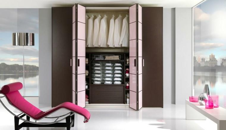 armarios vestidores puertas forma acordeon