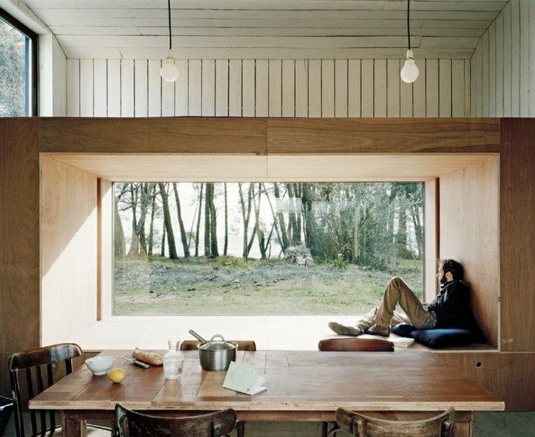 Ventanas con asientos cincuenta ideas geniales for Asientos para terrazas