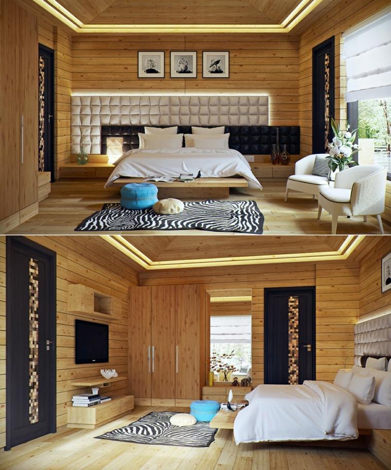 atractiva cabaña campo cuadros acogedor