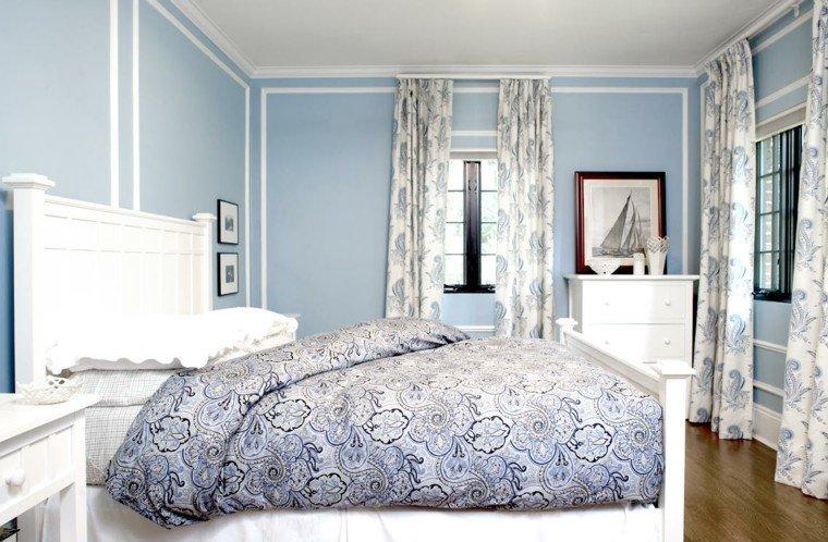 azul marino blanco combinado casa